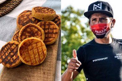 La arepa boyacense se conoció en Francia y el mundo gracias a Nairo Quintana