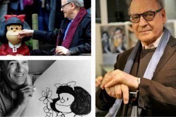 Muere Quino, creador de la tierna e irreverente Mafalda ¡Gracias por tanto maestro!