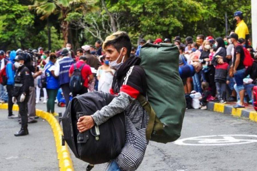 """Así se reactivó la migración venezolana con la llamada """"nueva normalidad"""" en Colombia"""