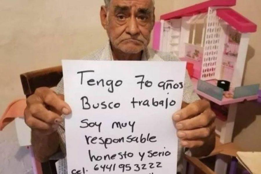Anciano pide que le den trabajo para cumplir 40 semanas que le faltan para pensionarse