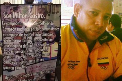 Atleta colombiano pasó de ir a Olímpicos a pedir limosna ¡Así lo puedes apoyar!