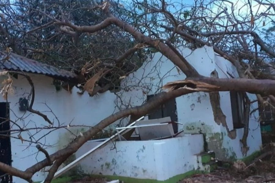 Fuertes imágenes del huracán en San Andrés: Providencia quedó destruida en un 98%