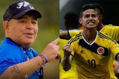 La última confesión de Maradona sobre James Rodríguez, ¡Una lamentable muerte!