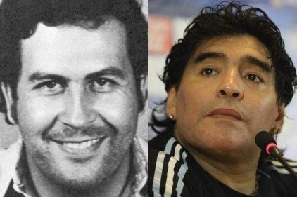 La historia del dinero de Pablo Escobar a Diego Maradona, la relación de dos históricos