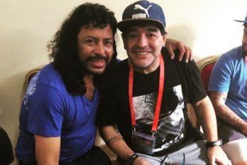 La loca amistad de Maradona y  Higuita, ¡Así fue su última despedida!