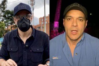 Juan Diego Alvira confiesa que necesita un tanque de oxígeno