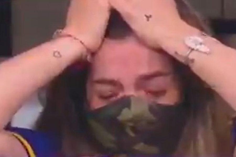 Un colombiano hizo llorar a la hija de Diego Maradona ¡Inesperado!