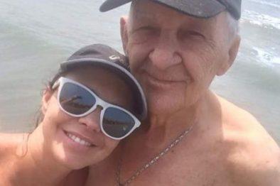 La triste despedida de Natasha Klauss a su padre que falleció por cáncer