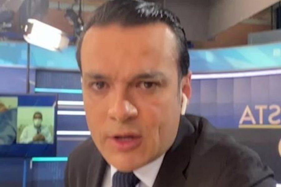 Juan Diego Alvira le puso un freno a Gustavo Petro
