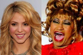 Celia Cruz no quería a Shakira: la rivalidad que pocos conocen