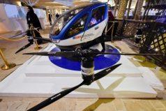 Taxi-dron chino ya entró en periodo de prueba