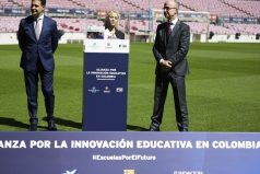 Shakira y el Barcelona FC anuncian nuevo colegio en Barranquilla