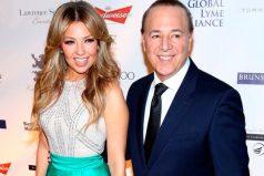 Tommy Mottola comparte controversial foto de la cantante Thalía