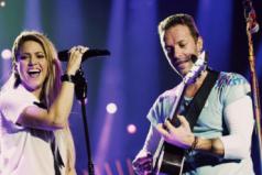 "Chris Martin cantó ""Yellow"" junto a Shakira. ¿Qué tal la interpretación?"