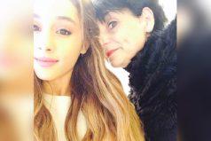 La madre de Ariana Grande protegió a fans en el camerino de la cantante