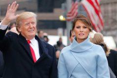 Se filtra a la Red un momento incómodo vivido por los Trump durante la investidura