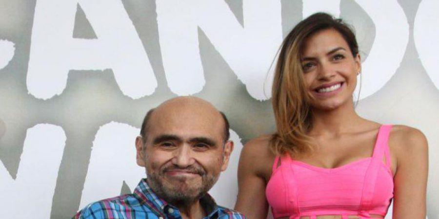 """Edgar Vivar alaba actuación de Milett Figueroa en """"Buscando a Nirvana"""""""