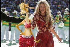 Mira cómo celebró Shakira su primera estatuilla