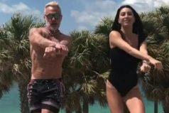 Gianluca Vacchi estrenó coreografía de 'Despacito' de Luis Fonsi y Daddy Yankee