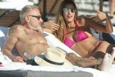 Ariadna Gutiérrez y Gianluca Vacchi en la playa, ¿un nuevo romance?