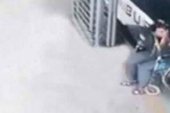 ¿Milagro o trampa? Una mujer en silla de ruedas camina de repente