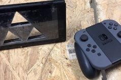 Una Nintendo Switch rota con diseño Zelda se vende por 10.000 dólares