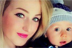 El bebé que detectó el cáncer mamario de su madre