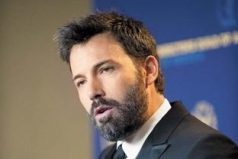 Ben Affleck abandona película de Netflix para recomponerse