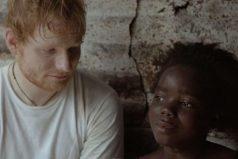 ¿Por qué Ed Sheeran se conmovió al cantar junto a una niña liberiana?