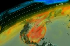 La NASA acaba de crear una nueva e impresionante visión tridimensional del CO2