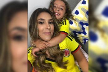 La manera como Daniela Ospina celebró el gol de su ex James Rodríguez