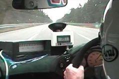 La primera vez que un auto de serie rompió la barrera de los 390 km/h
