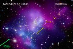NASA: Revelan sorprendentes imágenes del choque de galaxias