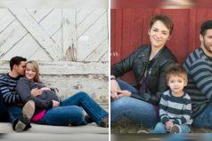 Se divorciaron hace 3 años, pero nunca faltan a la foto familiar. Su razón es conmovedora