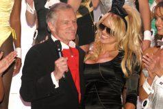 Así mostró su dolor Pamela Anderson por la muerte de Hugh Hefner