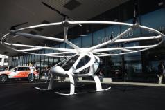 Los taxis voladores hacen sus primeras pruebas en el cielo