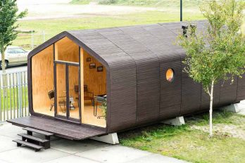 Wikkelhouse, casa modular de cartón eco-friendly