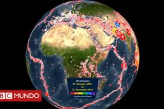 Cómo los terremotos han sacudido la Tierra en los últimos 15 años