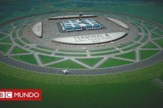 El hombre que quiere construir aeropuertos con pistas de aterrizaje circulares