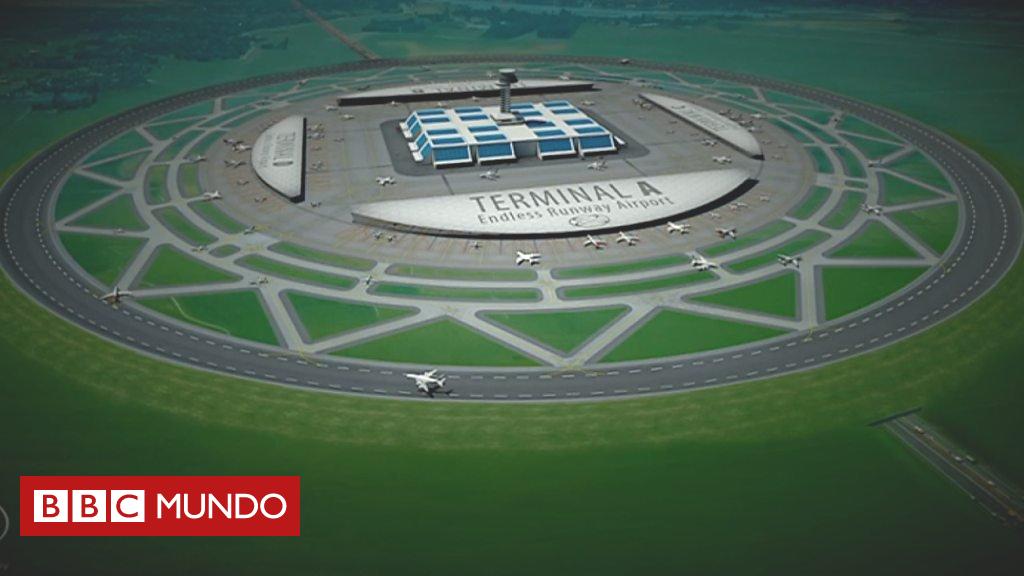 Elhombrequequiereconstruiraeropuertosconpistasdeaterrizajecirculares-BBCMundo