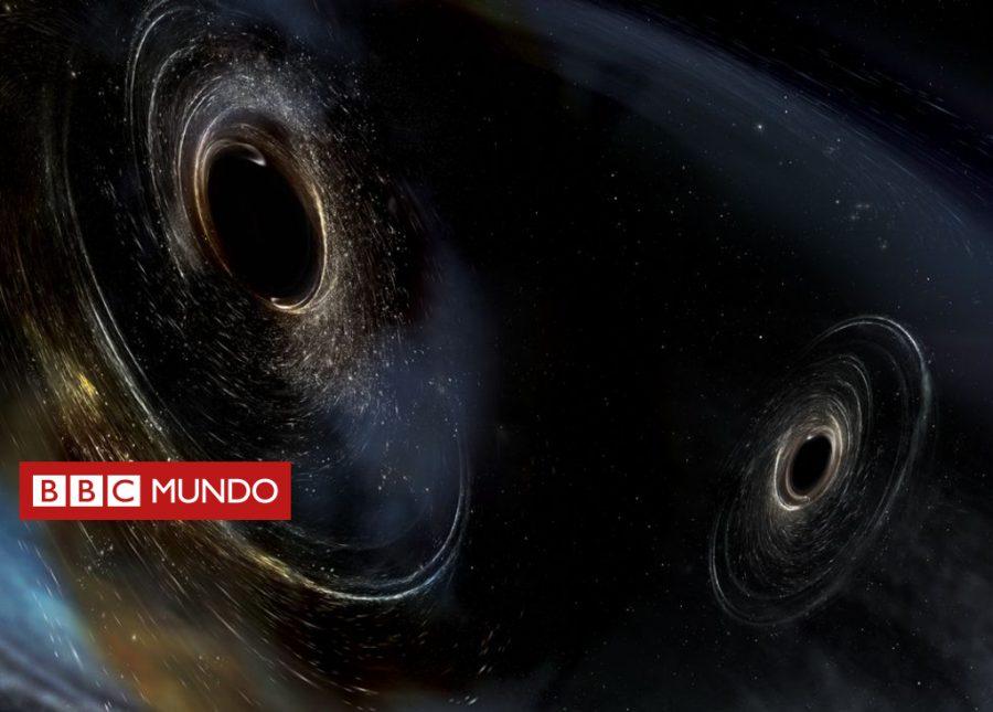 Así suena la violenta fusión de dos agujeros negros ocurrida hace más de 3.000 millones de años