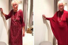 Anciana de 93 años se vuelve famosa al pedir ayuda para escoger su vestido de novia