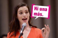 Anne Hathaway arrepentida enseñar a su hijo en Instagram