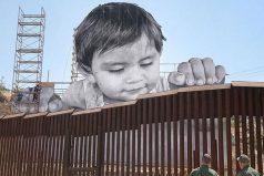 La conmovedora foto de la frontera con México que se ha vuelto viral