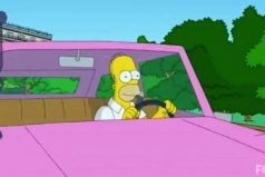 Se revela el modelo del auto de Homero Simpson
