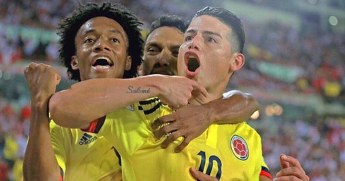 QueseharaconlacamisetaconlaquemarcoJamesRodriguezyladejoenColombia-Colombiamegusta