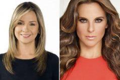 ¡'Encontronazo' al aire! ¿Qué le respondió Kate del Castillo a Vicky Dávila?