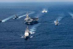 Estados Unidos envía flota de ataque a la Península de Corea