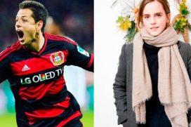 Chicharito y el romántico mensaje que dedicó a Emma Watson