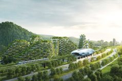 China construye la primera ciudad bosque del mundo